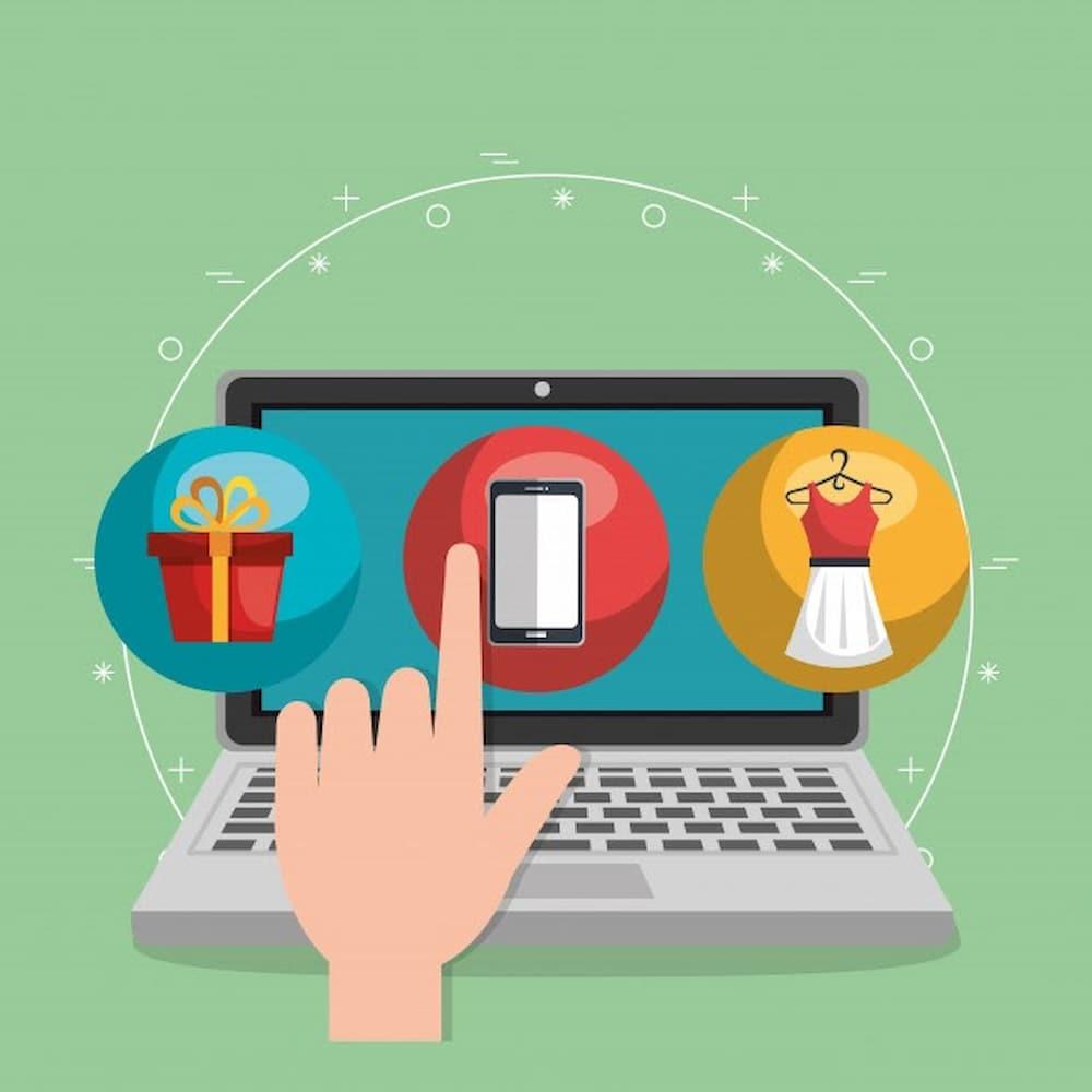 Comercio de roupas online